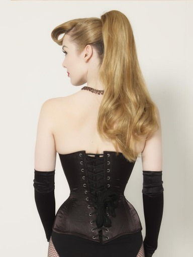 Back view of the Laurie Extreme corset, £205.50