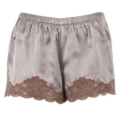 Gold Hawk Floral Lace Shorts