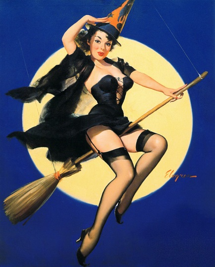 Pin up girl by Gil Elvgren