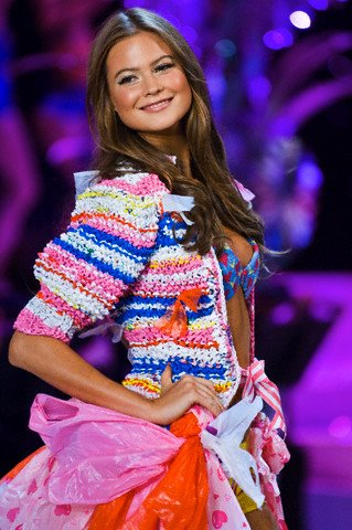 Behati Prinsloo was my favourite thing from the 2008 show.